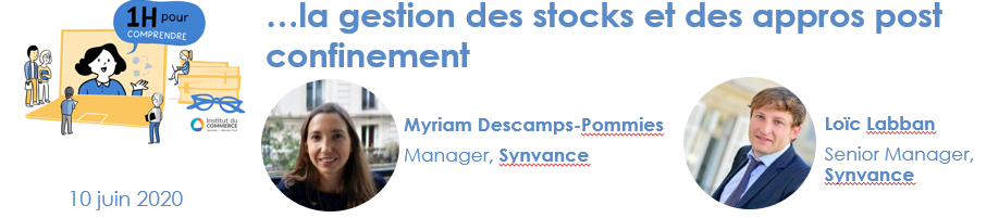 la gestion des stocks et des appros post confinement