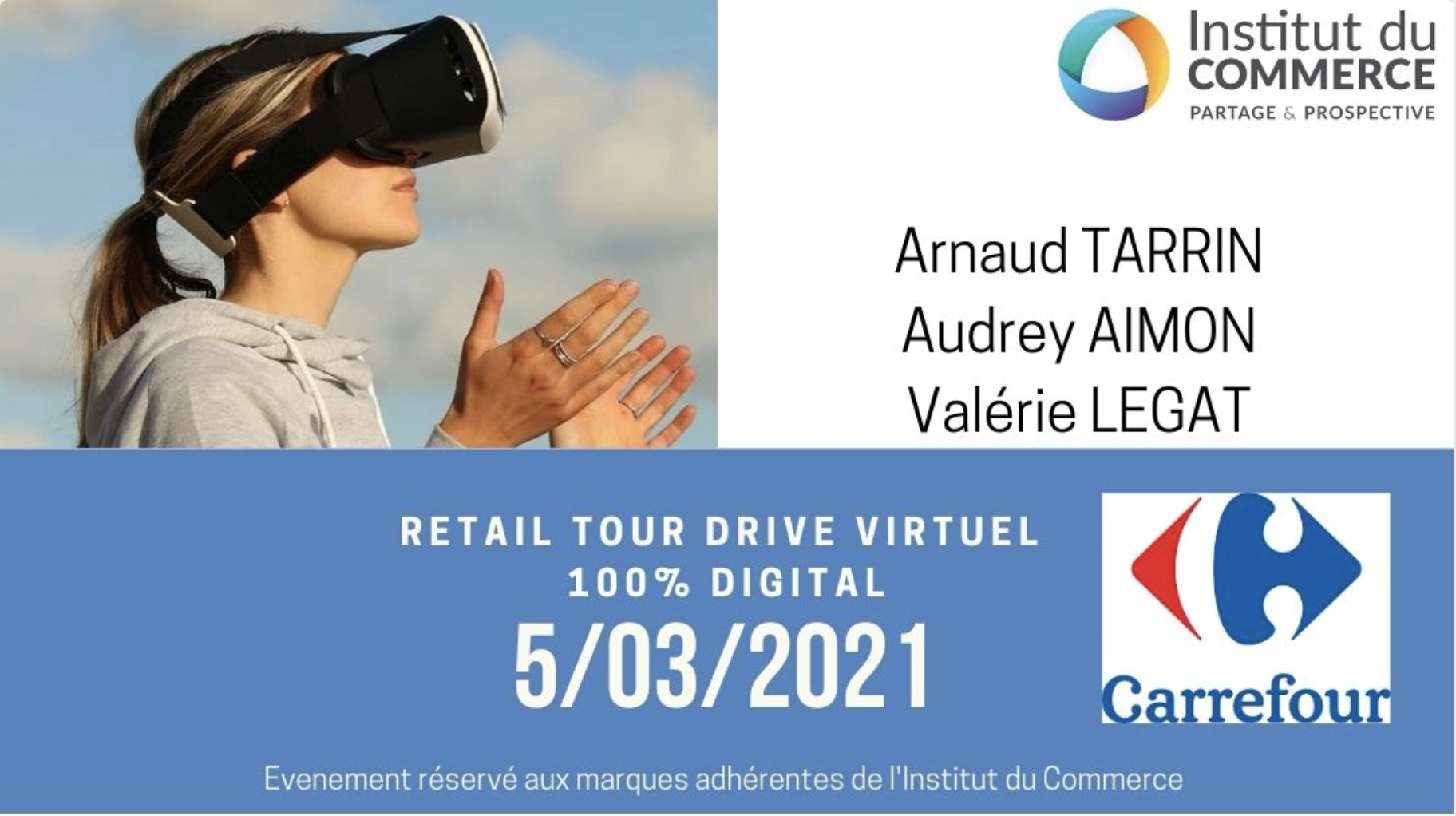 Retail Tour Virtuel E-commerce Carrefour