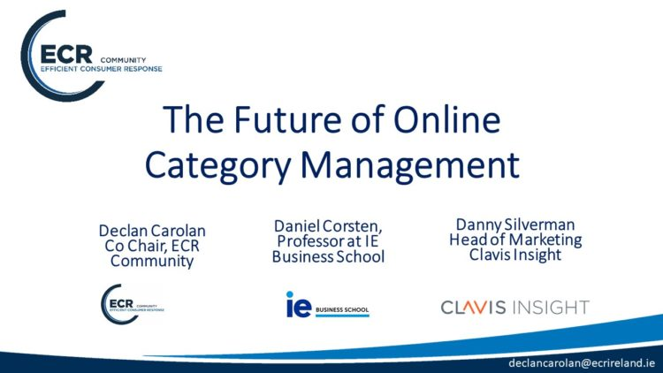 """Communauté Catman : 3 Webinars ECR sur """"The Future Category Management"""""""