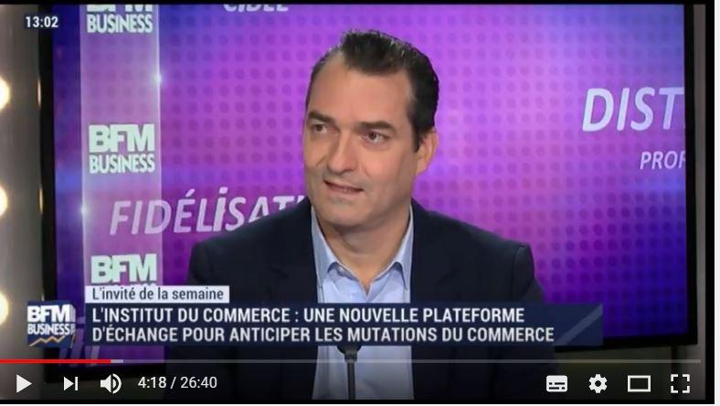 Innover pour le commerce -Interview de Marc Butot sur BFM TV