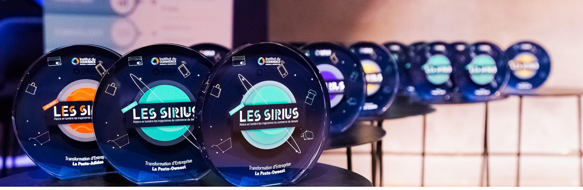 Le palmarès des Sirius 2018