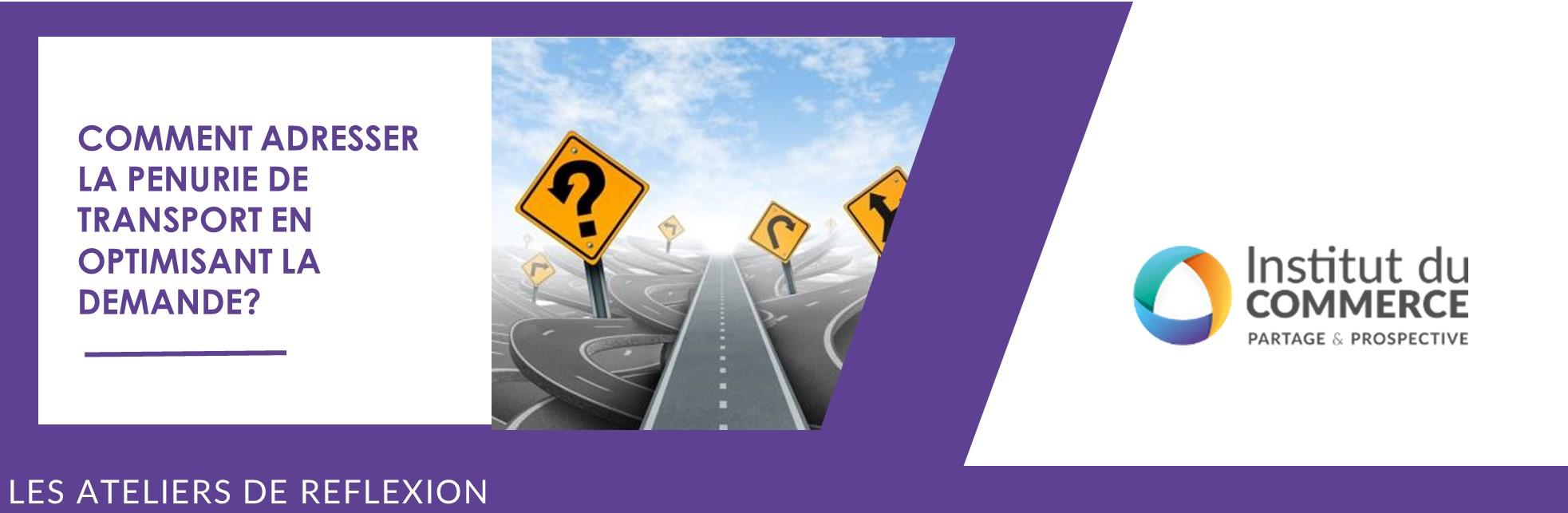 Comment adresser la pénurie de transport en optimisant la demande?