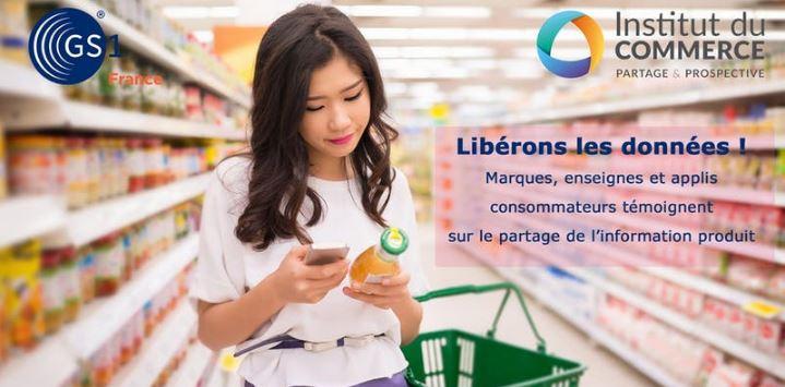 Libérons les données : Marques, enseignes et applis consommateurs témoignent sur le partage de l'information produit dans l'intérêt de tous et des consommateurs.