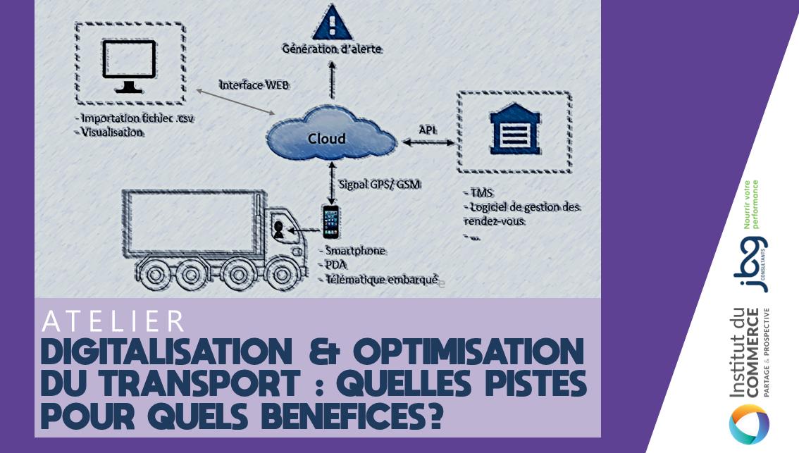 Digitalisation & Optimisation du transport : quelles pistes pour quels bénéfices?