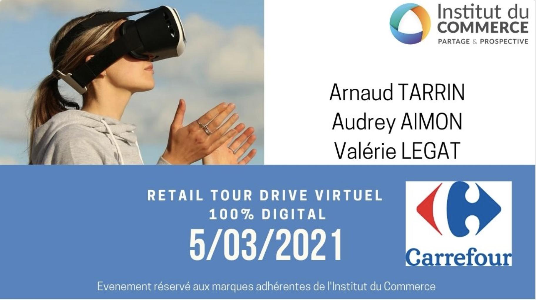 Retail Tour Virtuel E-commerce Carrefour