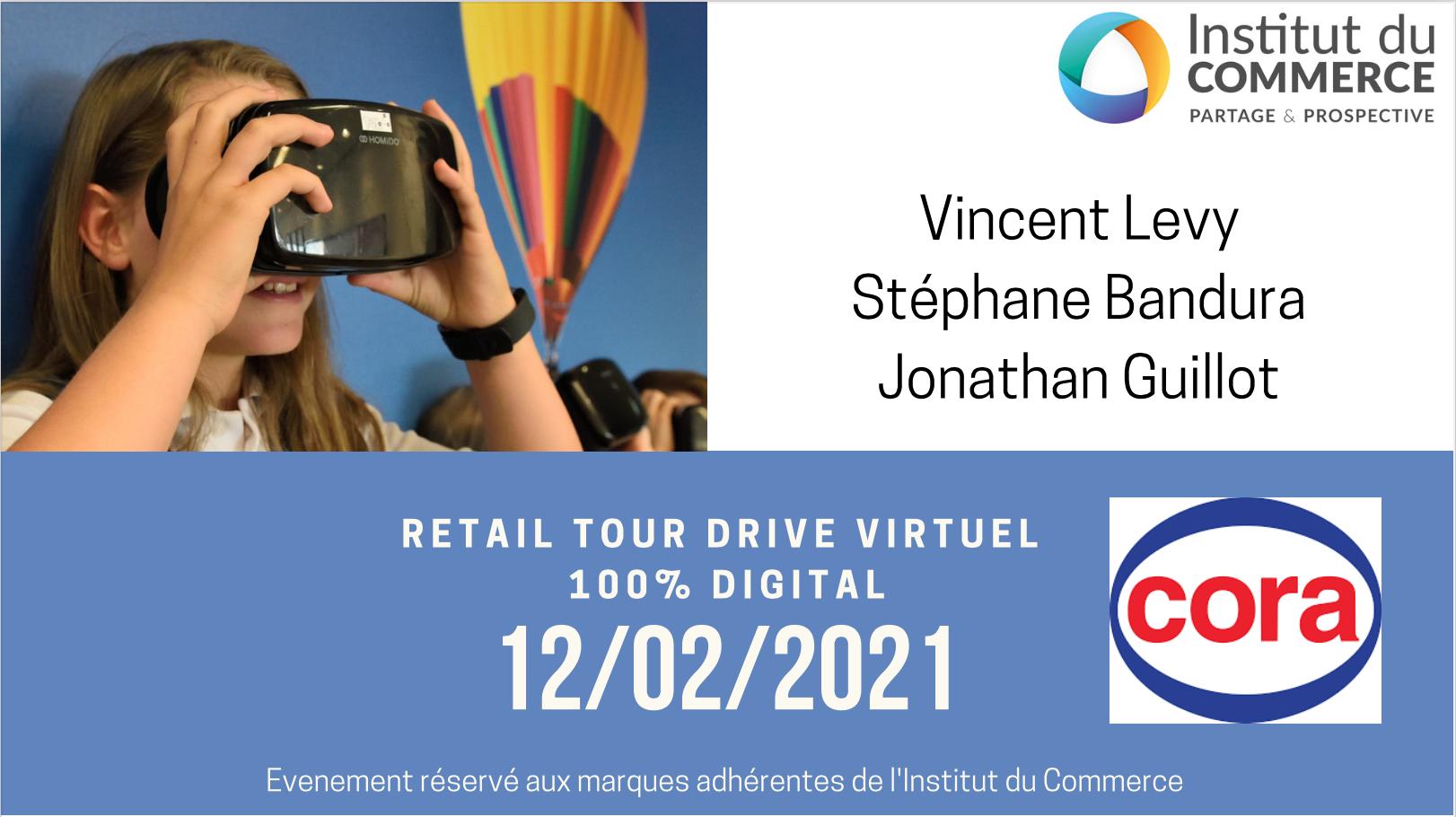 Retail Tour Virtuel E-commerce Cora