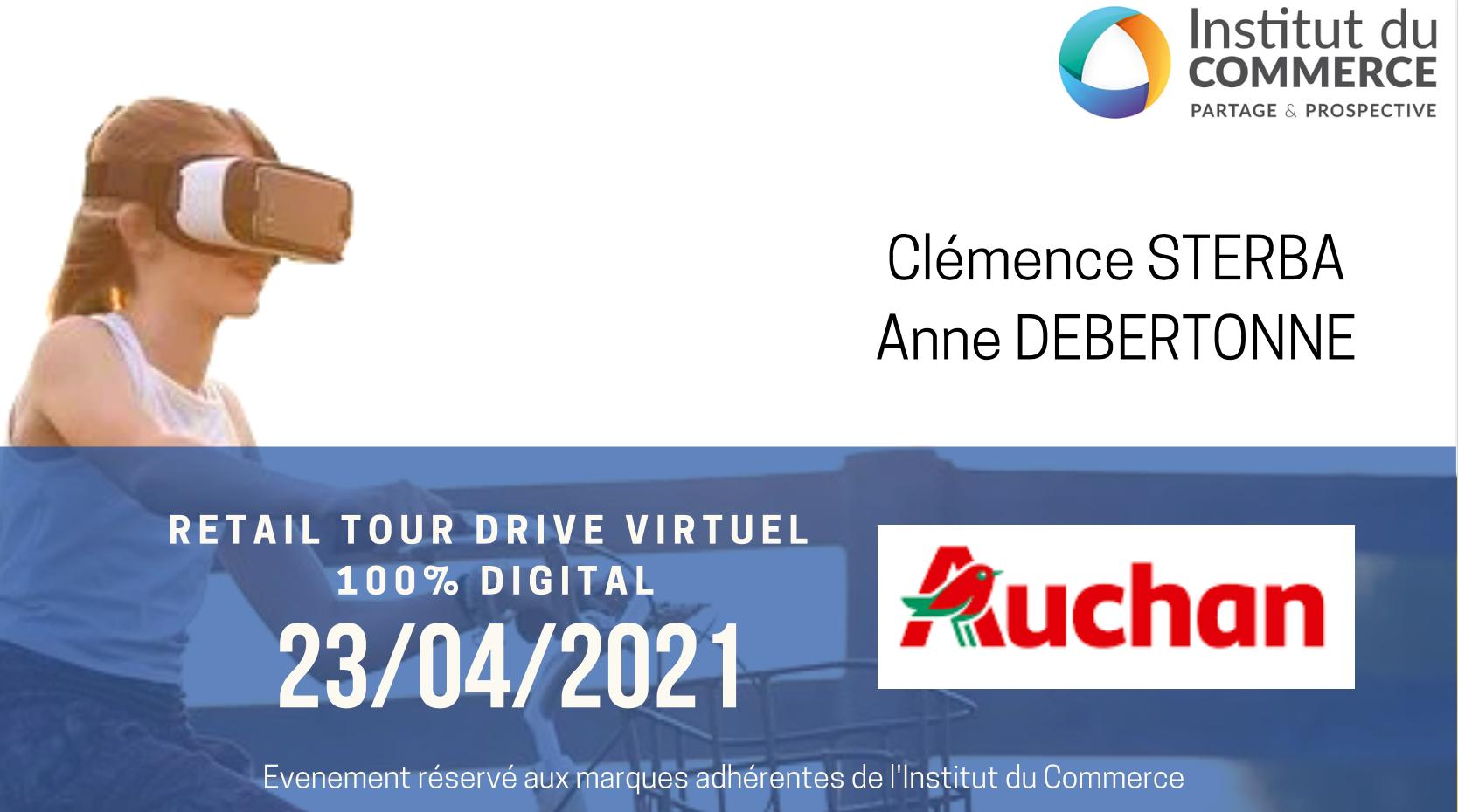 Retail Tour Virtuel E-commerce Auchan