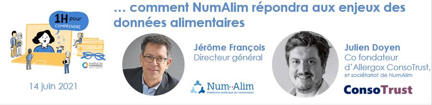 comment NumAlim répondra aux enjeux des données alimentaires