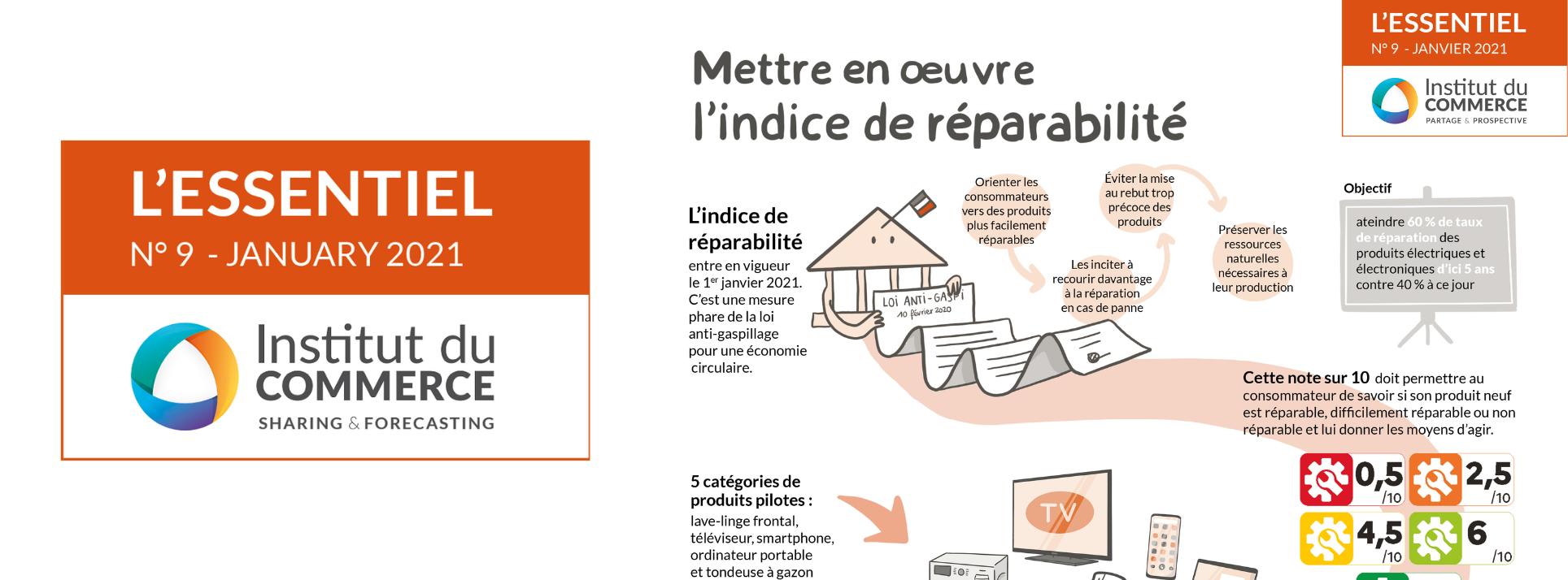 Essentiel#9  : La mise en oeuvre de l'Indice de Réparabilité