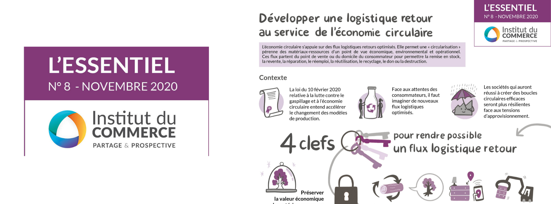 Essentiel #8 : Développer une logistique retour au service de l'économie circulaire