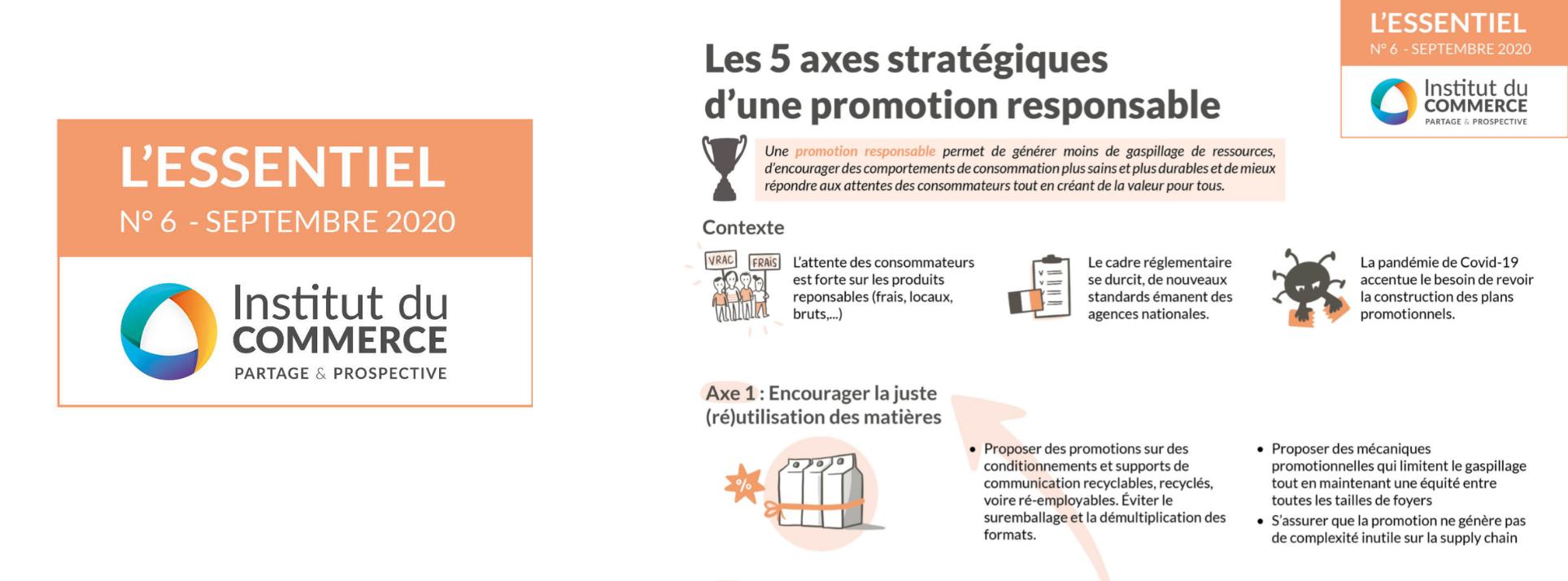 Essentiel#6 : Les 5 axes stratégiques d'une promotion responsable