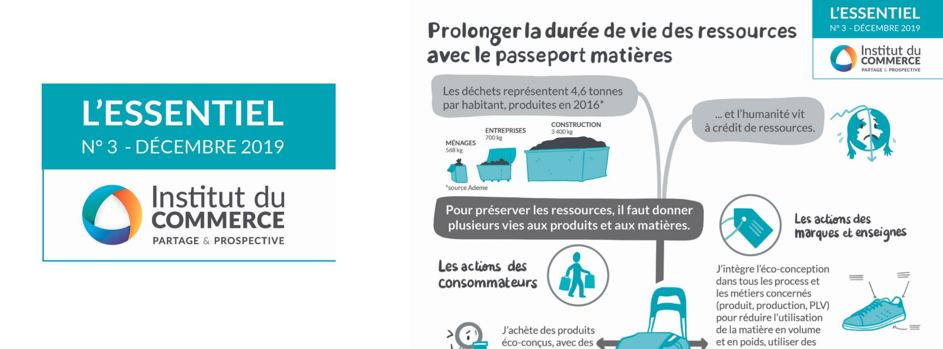 Essentiel #3 : Prolonger la durée de vie des ressources avec le passeport matière