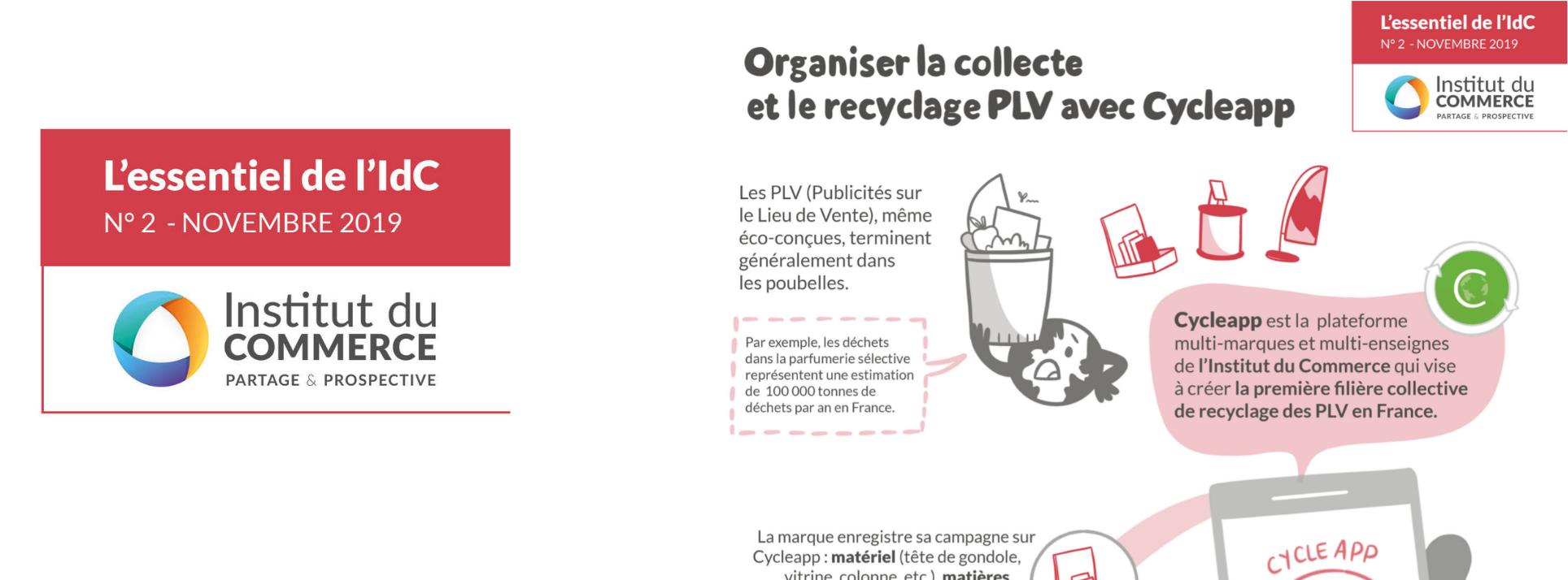 Essentiel#2 : Cycleapp, la plateforme de traçabilité et de recyclage des PLV
